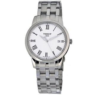 Tissot Men's T0334101101301 Dream Round Silvertone Bracelet Watch