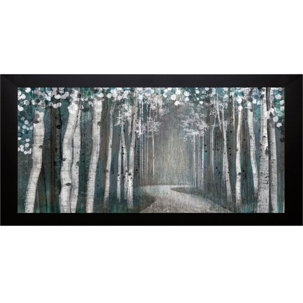 Tandi Venter 'Mineral Forest' Framed Art Print