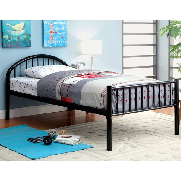 Furniture of America Linden Single Arch Metal Full Bed