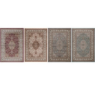 Regal Collection Traditional Medallion Design Area Rug (7'10 x 10'6)