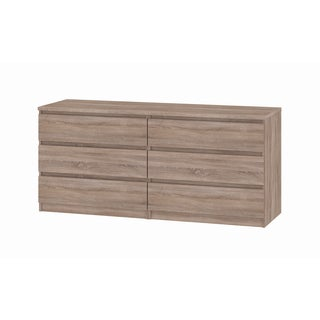 Scottsdale 6-drawer Truffle Double Dresser