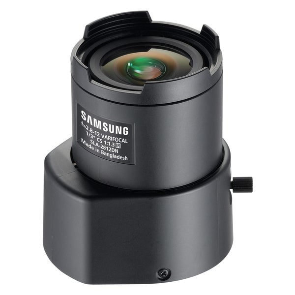 Samsung SLA-2812DN 2.80 mm - 12 mm f/1.3 Zoom Lens for CS Mount