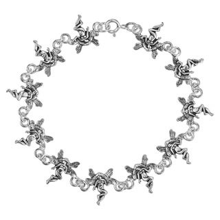 Enchanting Fairy Link .925 Sterling Silver Bracelet (Thailand)