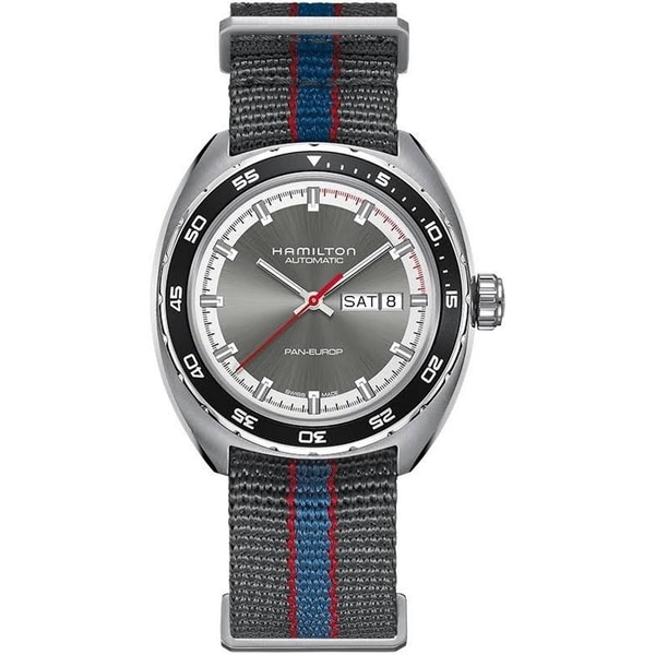 Hamilton Men's H35415781 Pan Europ Auto Grey Watch