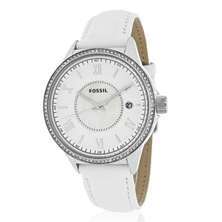 Fossil Women's BQ1109 Classic White Mother of Pearl Watch