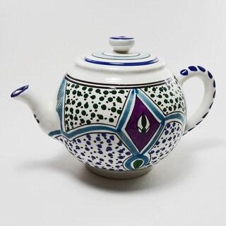 Le Souk Ceramique Malika Design Teapot (Tunisia)