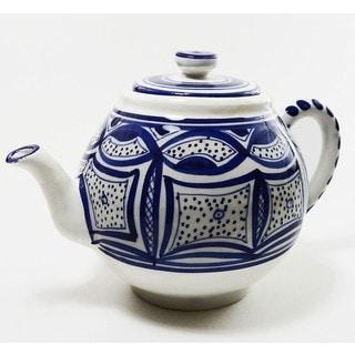 Le Souk Ceramique Qamara Design Teapot (Tunisia)