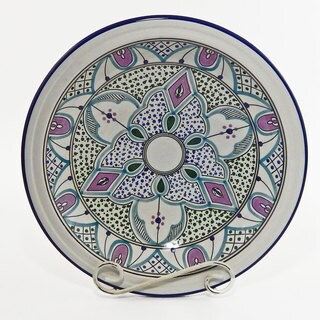Le Souk Ceramique Malika Design Small Serving Bowl (Tunisia)