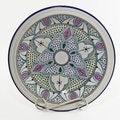 Le Souk Ceramique Malika Design Small Serving Bowl (Tunisia)