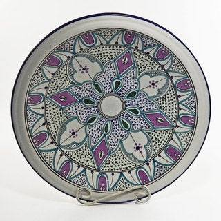 Le Souk Ceramique Malika Design Large Serving Bowl (Tunisia)