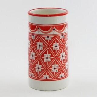 Le Souk Ceramique Nejma Design Utensil/ Wine Holder (Tunisia)