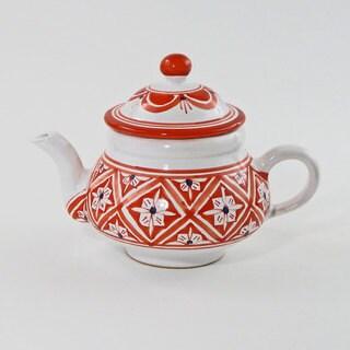 Le Souk Ceramique Nejma Design Teapot (Tunisia)