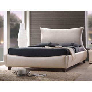 Galton Pearl White Queen Bed