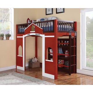Fola Fire House Theme Loft Bed