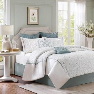 Harbor House Flourish 4-Piece Cotton Comforter Set