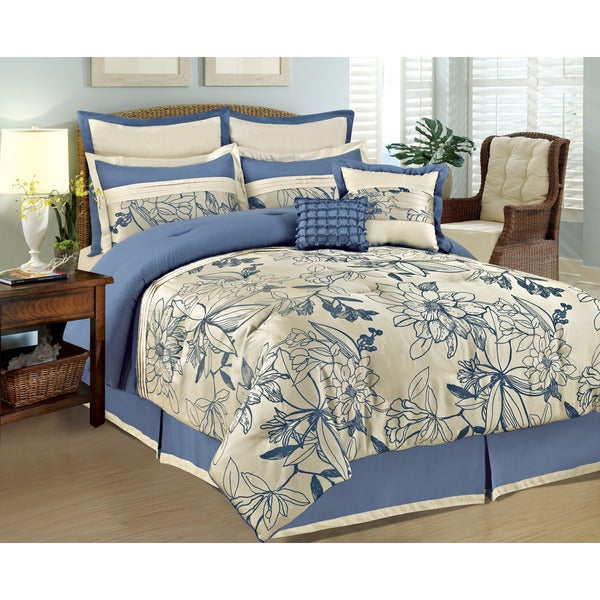 Fashion Street 5th and Bloom 8-piece Comforter Set