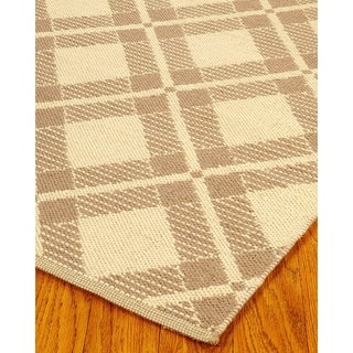 Natural Area Rugs Hand-woven Whimsy Dhurrie Wool Rug (8' x 10')