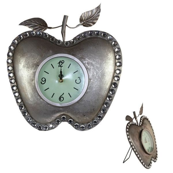 Essential Apple Metal Clock