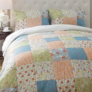 Jovi Home Flower Patchwork 3-piece Duvet Cover Set