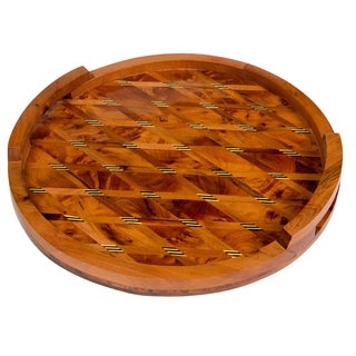 Moroccan Thuya Wood Serving Tray