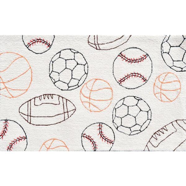 Balls Area Rug (4'8 x 7'8)