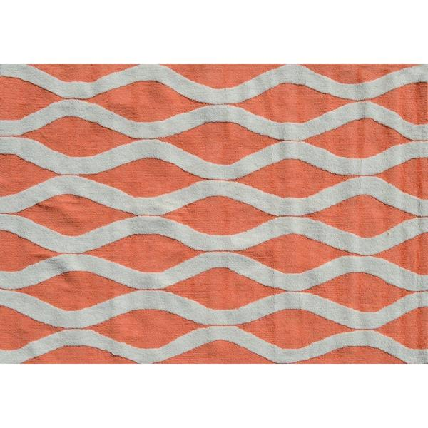 Squiggle Coral Area Rug (5' x 7')