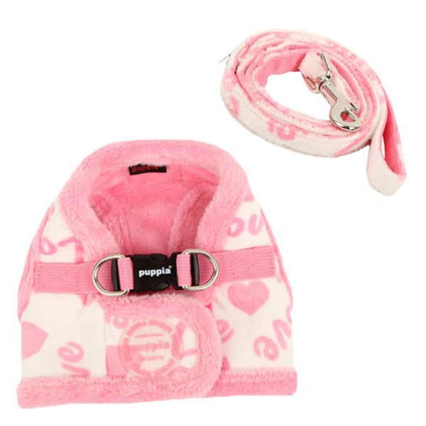Puppia Love Letter Soft Vest Pet Harness