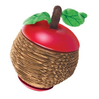 KONG Active Scratch Apple Catnip Cat Toy