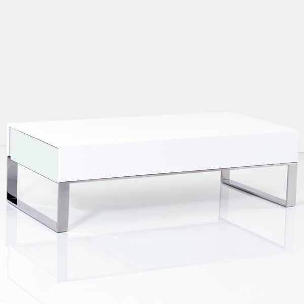 Modrest 170A Terbium Modern White Glossy Coffee Table