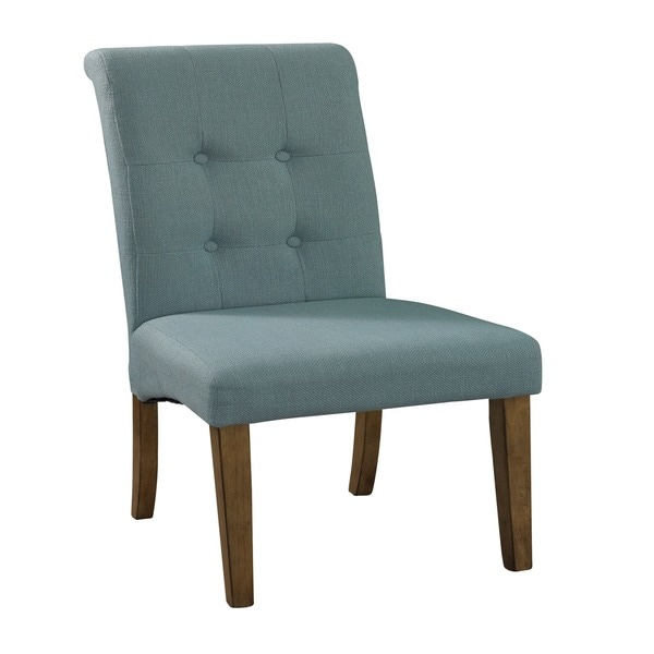 Powell Townsend Blue Parson Chair (Set of 2)