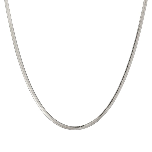 Sterling Silver 3.9mm Herringbone Chain