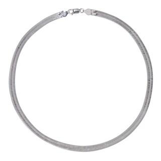 Sterling Silver 6.3mm Herringbone Chain