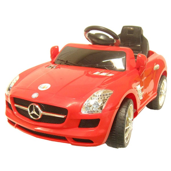 Mercedes Benz Red Sports Coupe