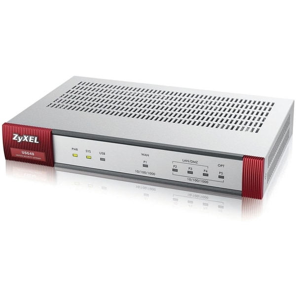 ZyXEL Connected Home Edition UTM Security Firewall with 1 Year CF and