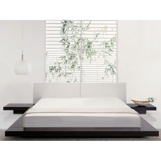 Worth King Size Platform Bed And 2 Nightstands 10582315 Shopping Big
