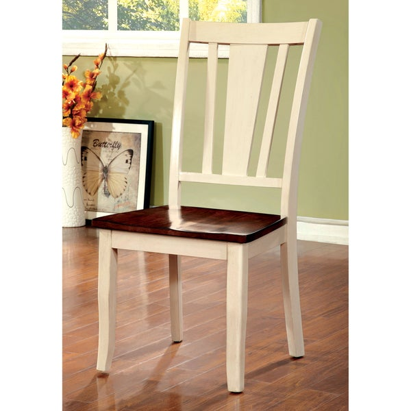 Furniture Of America Betsy Jane Country Style 2 Tone Side