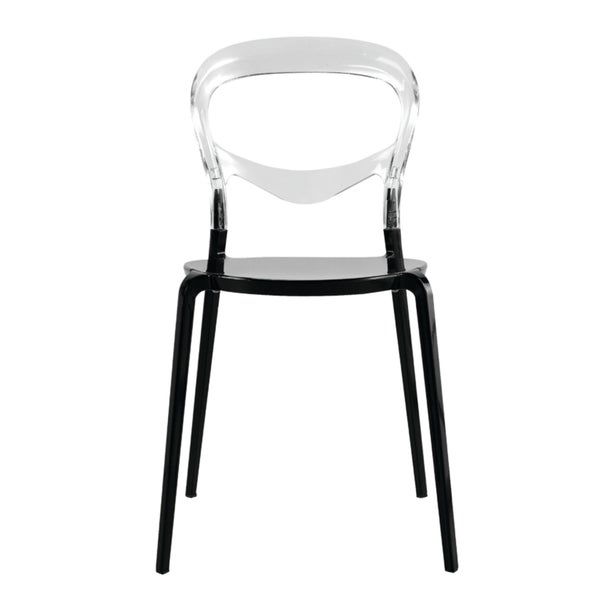 Evo Acrylic Dining Side Chair (Set Of 2)