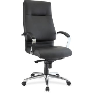 Lorell Modern Exec. High-back Leather Chair