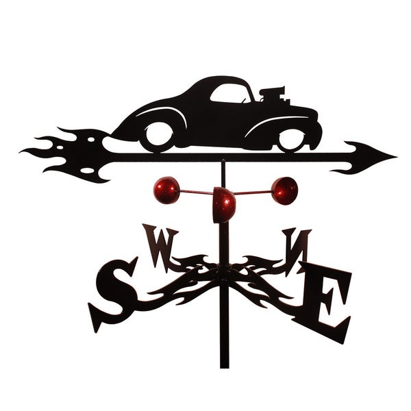 Handmade Willie Willys Auto Car Steel Weathervane