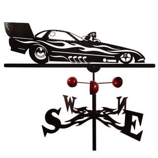 Handmade Funny Car Auto Car Racing Steel Weathervane