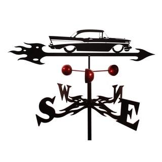 Handmade 57 Chevy Auto Car Steel Weathervane