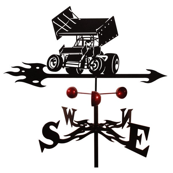 Farrell Sprint Car Steel Weathervane