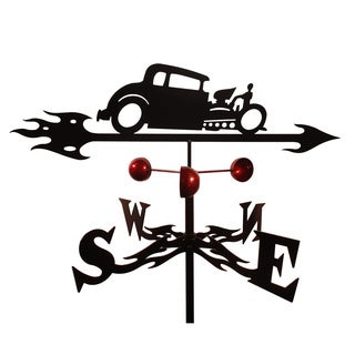 Handmade Hot Rod Auto Car Steel Weathervane