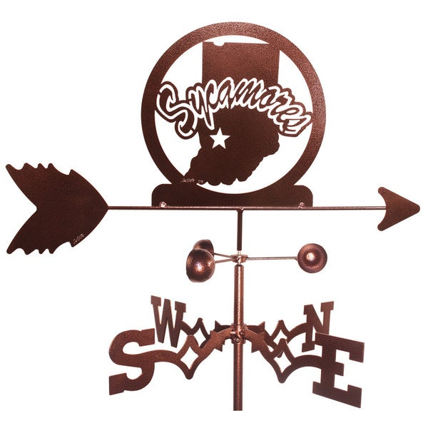 Indiana State Sycamores Weathervane