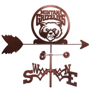 Montana Grizzlies Weathervane