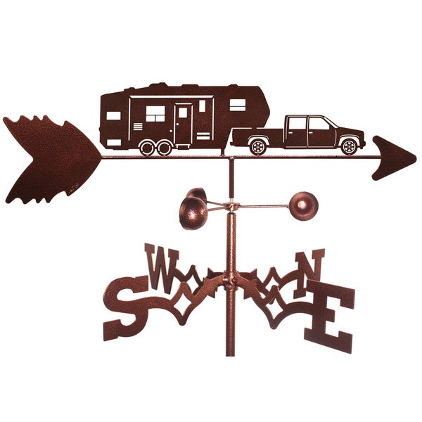 5th Wheeler Camper Weathervane