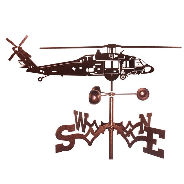 Black Hawk Helicopter Weathervane