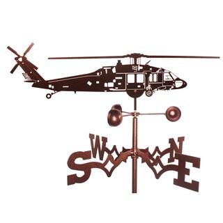 Black Hawk Helicopter Weathervane