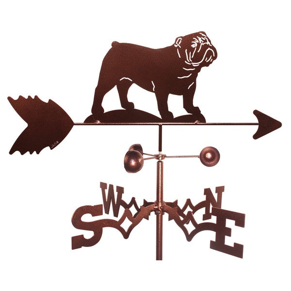 English Bulldog Weathervane