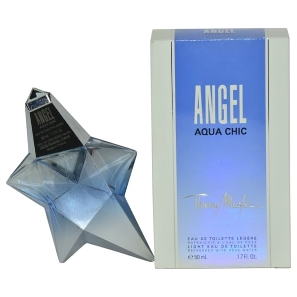Thierry Mugler Angel Aqua Chic Womens 1.7-ounce Light Eau de Toilette Spray (Edition 2013 Packagi